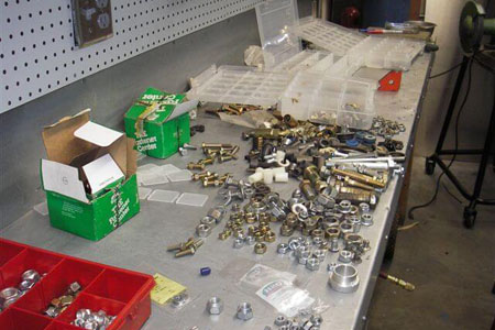 organize nuts and bolts
